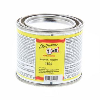 1 Shot Lettering Enamel 1/4 Pint Paint Can Magenta