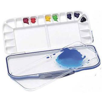 Martin Universal Mijello Fusion Airtight 18-Well Watercolor Palette