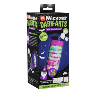 Micador Dark Arts Glow Galaxy Jar Kit