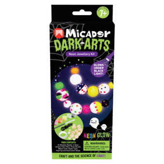 Micador Dark Arts Neon Glow Jewelry Kit
