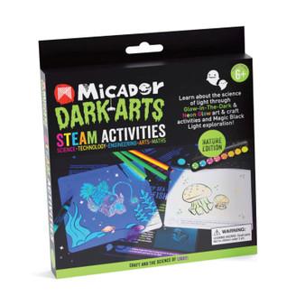 Micador Dark Arts Glow STEAM Pack Nature Activities Kit