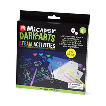 Micador Dark Arts Glow STEAM Pack Technology Activities Kit