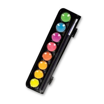 Micador Dark Arts Neon Glow Watercolor 8 Color Set