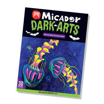 Micador Dark Arts A6 Drawing Pad