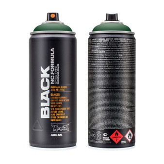 Montana Black High-Pressure Spray Paint Can Banknote