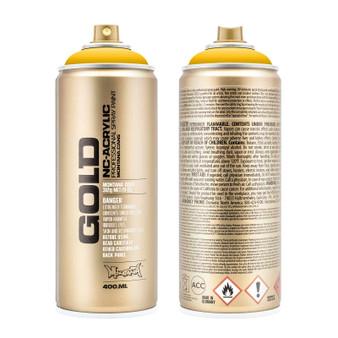 Montana GOLD Spray Paint Shock Yellow
