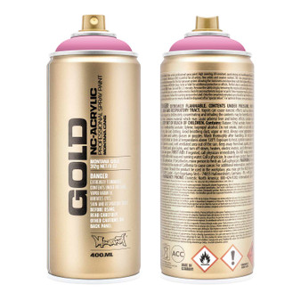 Montana GOLD Spray Paint Shock Pink Light