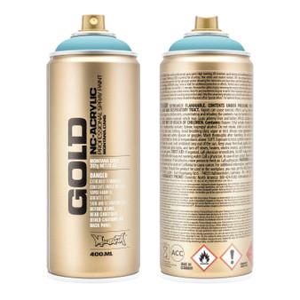 Montana GOLD Spray Paint Shock Blue Light
