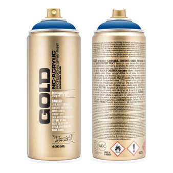 Montana GOLD Spray Paint Shock Blue