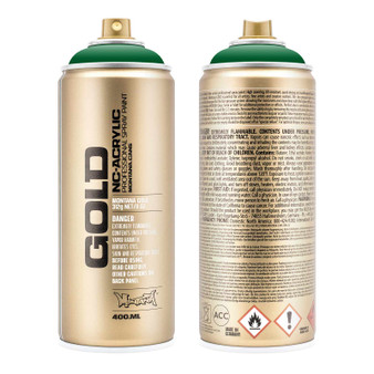Montana GOLD Spray Paint Shock Green Dark