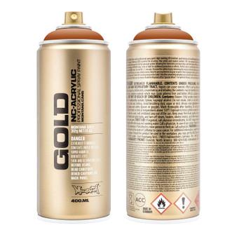 Montana GOLD Spray Paint Shock Brown Light