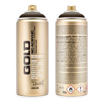Montana GOLD Spray Paint Shock Brown Dark