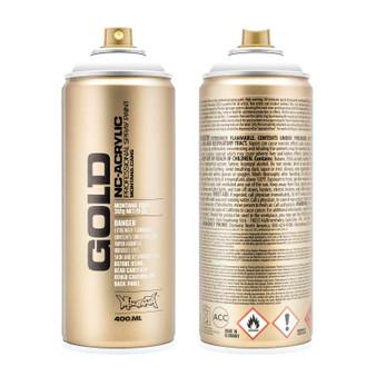 Montana GOLD Spray Paint Shock White