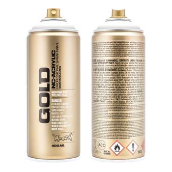 Montana GOLD Spray Paint Shock White Pure