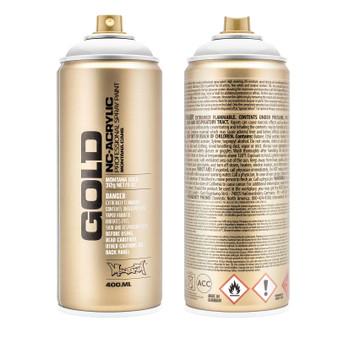 Montana GOLD Spray Paint Transparent White