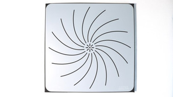 "The Dotting Center 12"" Mandala Stencil Lotus"