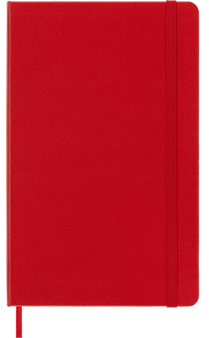 Moleskine 2022 12 Month Daily Planner Large Hard Cover Scarlet Red