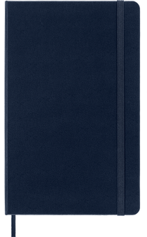 Moleskine 2022 12 Month Daily Planner Large Hard Cover Sapphire