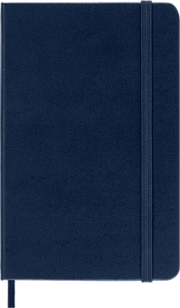 Moleskine 2022 12 Month Weekly Planner Pocket Hard Cover Sapphire