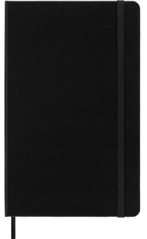 Moleskine 2022 12 Month Weekly Planner Large Soft Cover Black