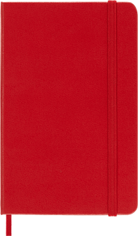 Moleskine 2022 12 Month Weekly Planner Soft Cover Scarlet Red