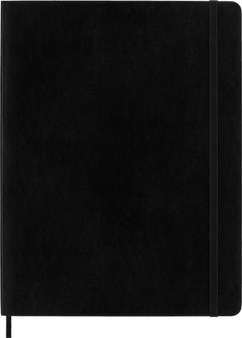 Moleskine 2022 12 Monthly Planner Extra-Large Soft Cover Black