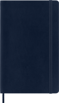 Moleskine 2022 12 Month Weekly Horizontal Planner Large Hard Cover Sapphire