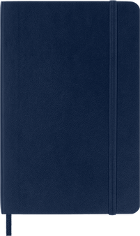 Moleskine 2022 12 Month Weekly Planner Horizontal Soft Cover Pocket Sapphire