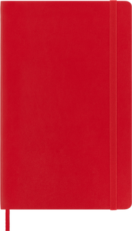 Moleskine 2021/22 18 Month Planner Weekly Large Scarlet Soft Cover