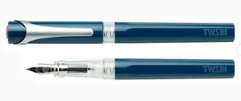 TWSBI Swipe Fountain Pen Prussian Blue Stub 1.1