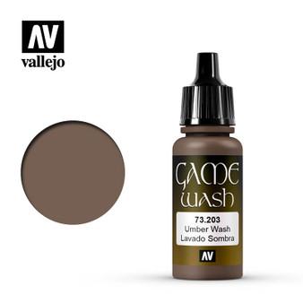 Vallejo Game Color Wash 17ml Umber Wash