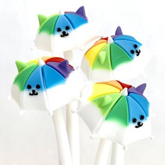 BC Mini Toy Gel Rainbow Umbrella Puppy Wiggle Pen