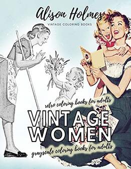 Vintage Women Coloring Book