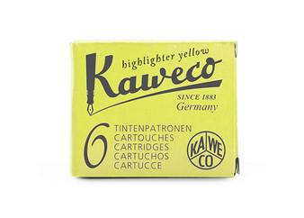 Kaweco Ink Cartridges Glowing Yellow 6 Pack