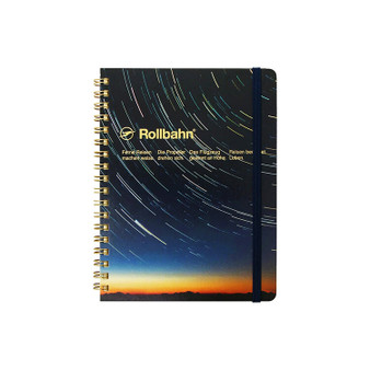 Rollbahn Limited Edition Planet Series Notebook Spiral Large Starry Sky