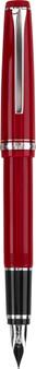 Pilot Falcon Fountain Pen Red/Silver M