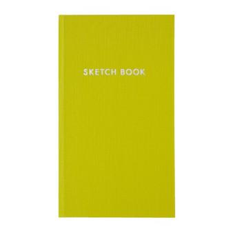 Kokuyo Field Sketch Book Grid Sulfur Yellow