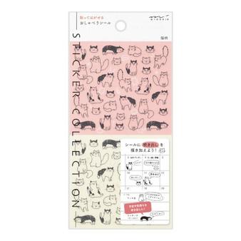Midori Chat Cat Stickers