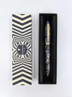 Mojiang (formerly Moonman) S1 Fountain Pen Grey Swirl Art/Fude Nib