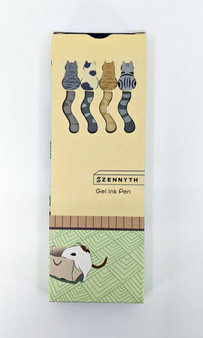Cat Tail .5 Gel Pen 4 Set