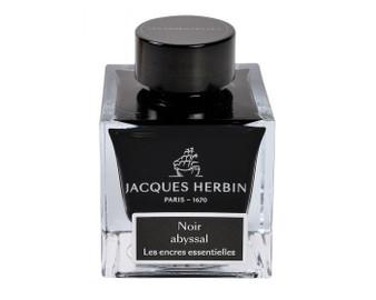 J. Herbin Essential Ink 50ml Bottle Noir Abyssal