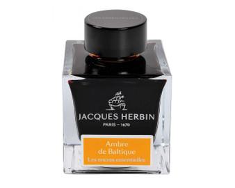 J. Herbin Essential Ink 50ml Bottle Ambre de Baltique