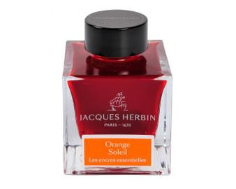 J. Herbin Essential Ink 50ml Bottle Orange Soleil