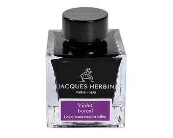 J. Herbin Essential Ink 50ml Bottle Violet Boreal