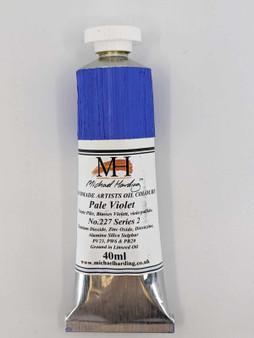 Michael Harding Artist Oil Paint 40ml Tube Pale Violet