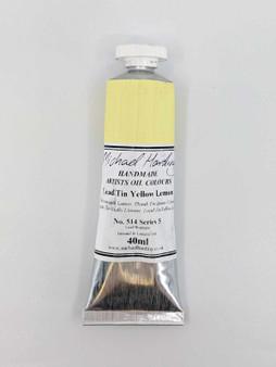 Michael Harding Artist Oil Paint 40ml Tube Lead Tin Yellow Lemon