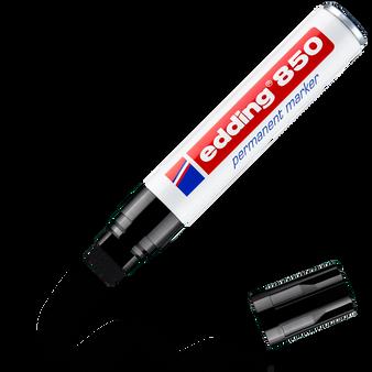 edding 850 Rectangular Nib Permanent Marker Black