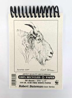 """Robert Bateman Sketchbook 3x5"""""""