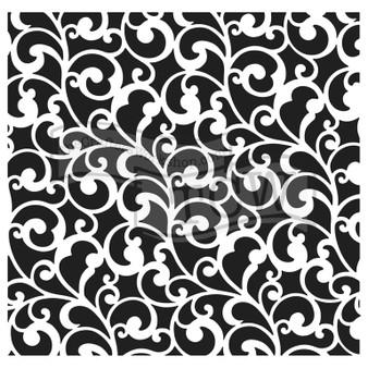 The Crafter's Workshop Stencil 6X6 Endless Swirls