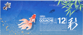Holbein Irodori Gouache Limited Edition Seasons Set Summer